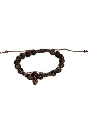 Nialaya Grey Metal Bracelets