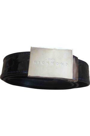 John Richmond Patent leather Belts