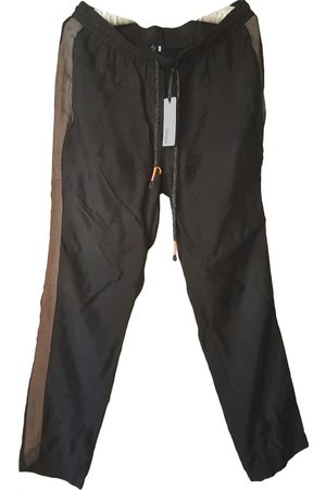 Sienna Anthracite Silk Trousers