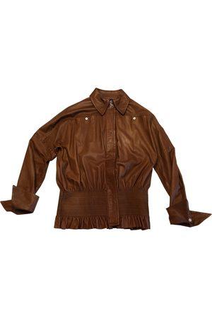 Gianfranco Ferré Leather biker jacket