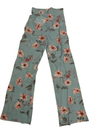 Intermix Women Straight Leg Pants - Silk straight pants