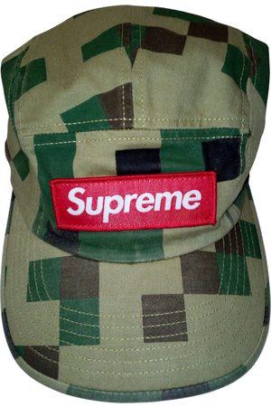 Supreme Khaki Cotton Hats & Pull ON Hats