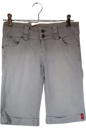 Esprit Grey Denim - Jeans Shorts
