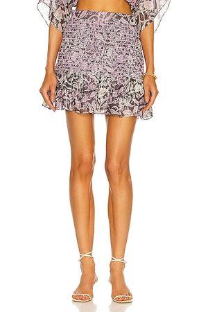 ROCOCO SAND Kian Mini Skirt in Lavender