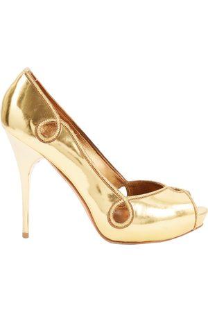 Alexander McQueen Women High Heels - Leather heels