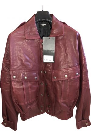 The Kooples Burgundy Leather Jackets