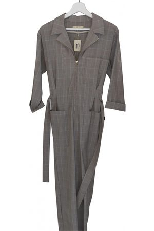 Maje Grey Synthetic Jumpsuits