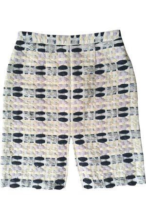 SUNO Multicolour Synthetic Skirts