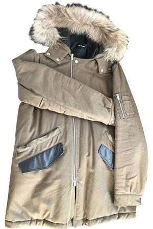 The Kooples Khaki Synthetic Coats