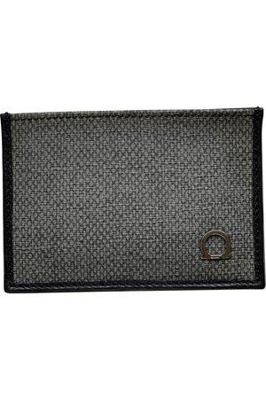 Salvatore Ferragamo Grey Cloth Small Bags\, Wallets & Cases