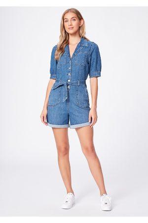 Paige Denim Women Jeans - Mayslie Denim Romper - Starlight