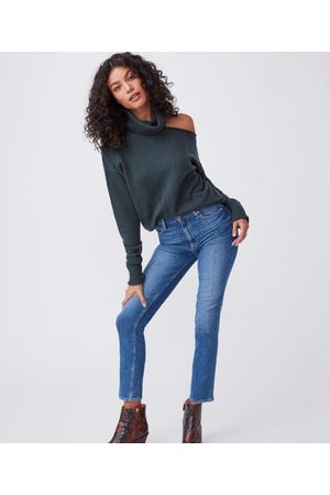 PAIGE Women High Waisted - Sarah Slim High Rose Road House jeans