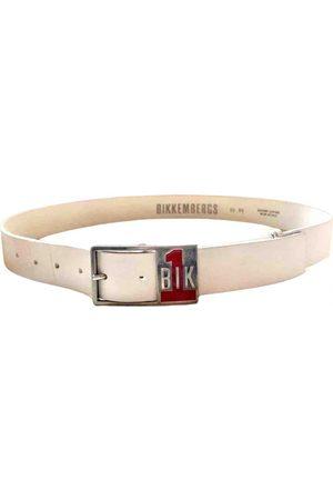 DIRK BIKKEMBERGS Men Belts - Leather belt