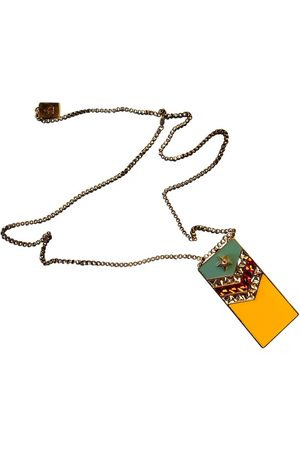 Lanvin Metal Long Necklaces