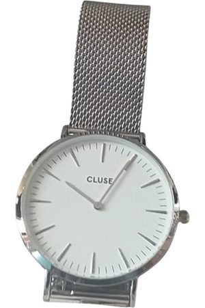 Cluse Grey Steel Watches
