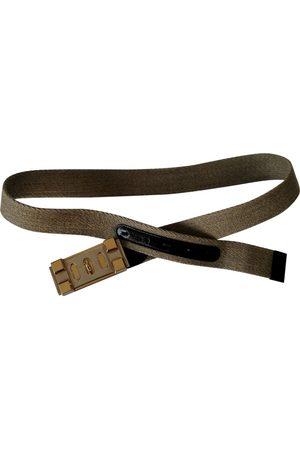 Dolce & Gabbana Ecru Cloth Belts