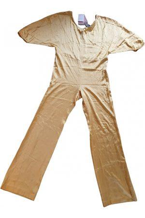 L'Autre Chose Silk Jumpsuits