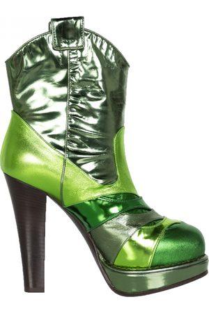 Bottega Veneta Leather Ankle Boots