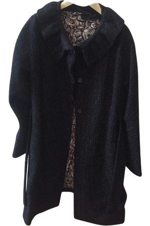 KRISTINA TI Anthracite Wool Coats