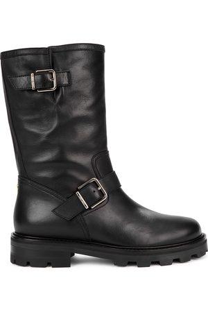 Jimmy Choo Biker II leather ankle boots