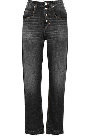 Isabel Marant Étoile Women Slim - Belden dark grey slim-leg jeans