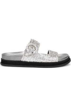 Jimmy Choo Marga glittered sandals