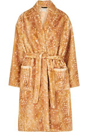 forte forte Printed faux fur coat