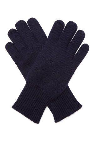 Brunello Cucinelli Suede-faced Cashmere Gloves - Mens