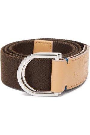 Paul Smith D-ring Canvas Belt - Mens