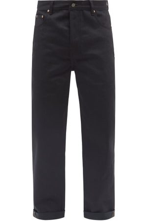 Raey Men Wide Leg - Open Organic Selvedge Denim Wide-leg Jean - Mens