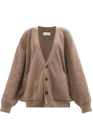 Raey Recycled Wool-blend Pocket Front Cardigan - Womens - Light