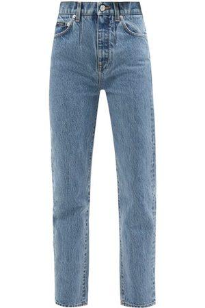 Dolce & Gabbana Women High Waisted - High-rise Straight-leg Jeans - Womens - Denim