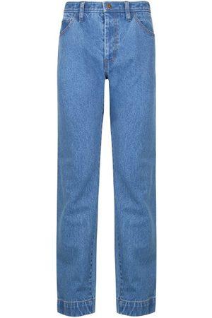 REJINA PYO Women High Waisted - Alfie High-rise Straight-leg Jeans - Womens - Mid Denim