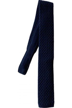 Church's Navy Wool Ties