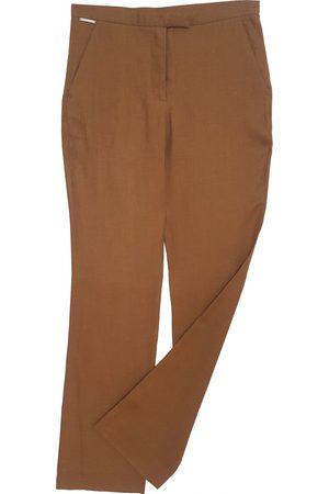 VALENTINO GARAVANI Linen straight pants