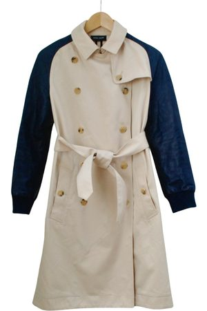 Sophie Hulme Ecru Cotton Coats