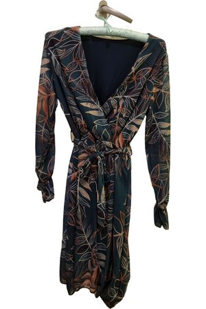 A.Lab Silk mid-length dress