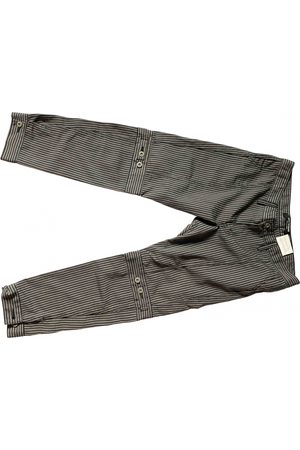 JUNYA WATANABE Grey Cotton Trousers
