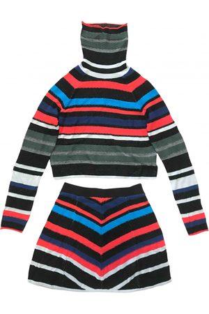 Free People Multicolour Cotton Jumpsuits