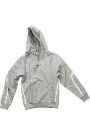Nike Grey Cotton Knitwear & Sweatshirt