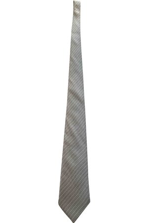 Hermès Grey Silk Ties