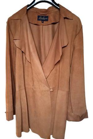 LUISA SPAGNOLI Camel Leather Jackets