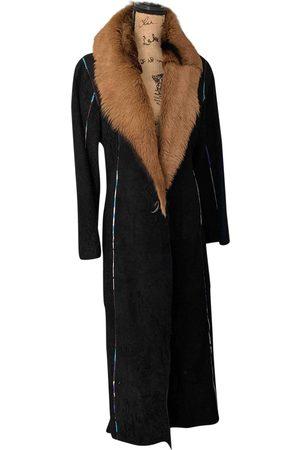 Roberto Cavalli Leather peacoat