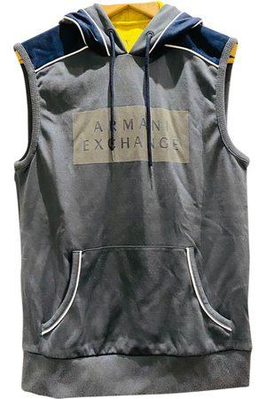 Armani Grey Polyester Knitwear & Sweatshirts