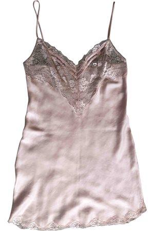 Dior Ecru Silk Lingerie