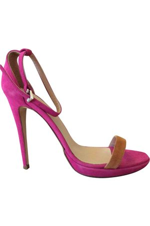 MASSIMO REBECCHI Suede Sandals