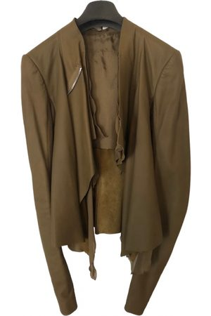 Rick Owens Leather Leather Jackets