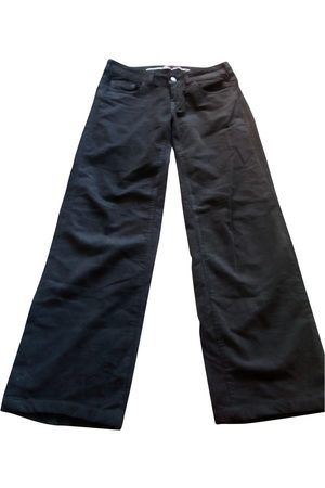 Vanessa Bruno Grey Cotton Trousers