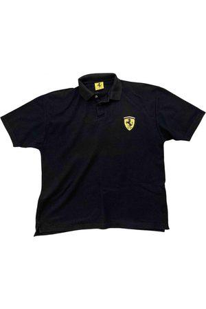 FERRARI STORE Cotton Polo Shirts