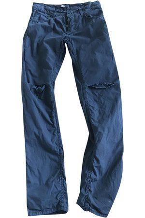 RAF SIMONS Cotton Jeans